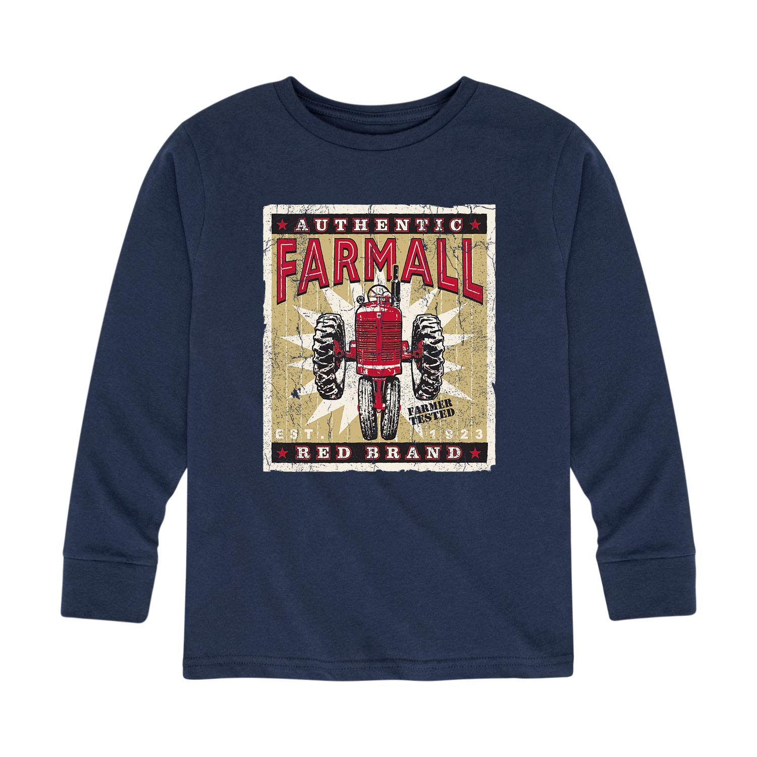 Country Casuals Farmall Posterl Look Youth Long Sleeve Tee