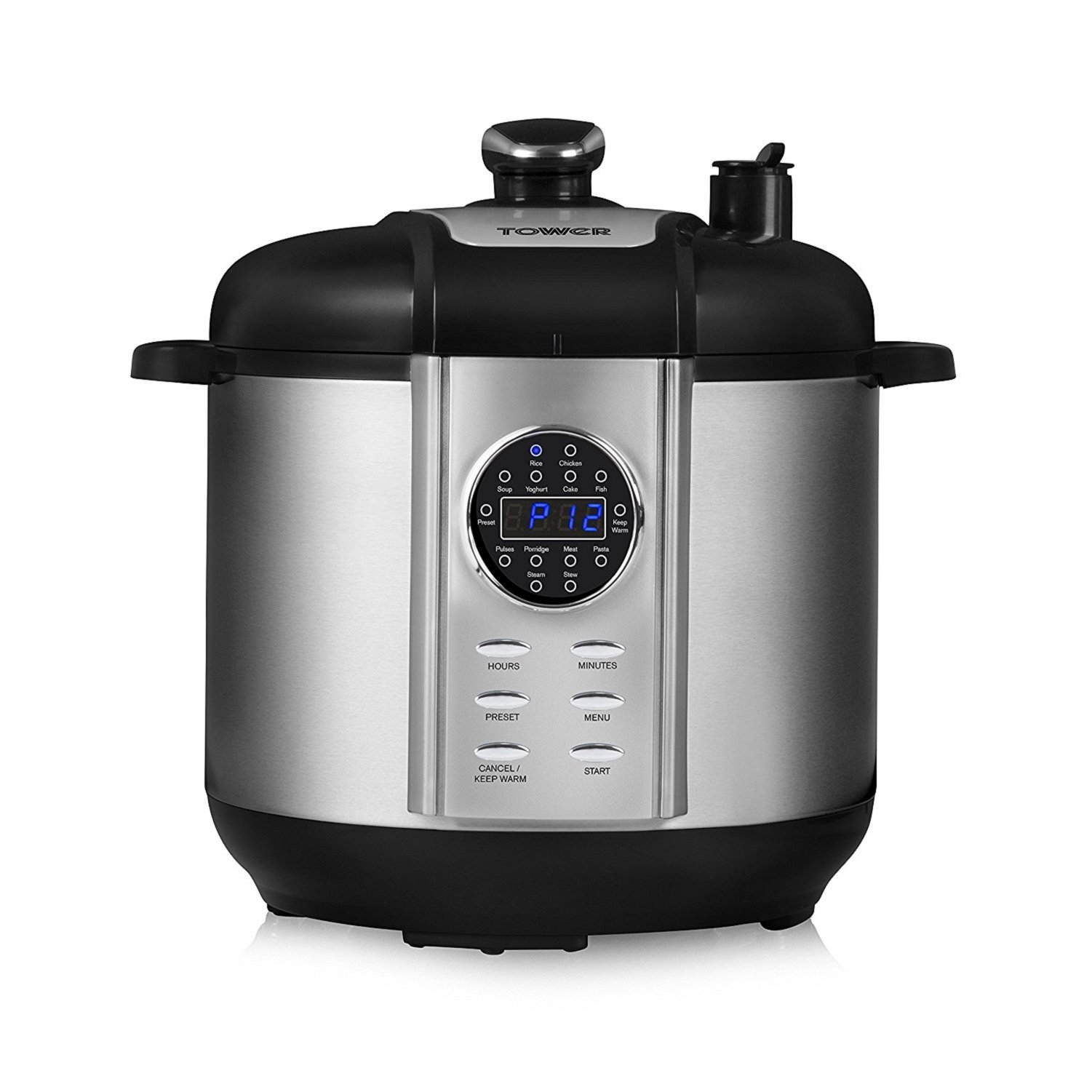Tefal 8-in-1 Multi-Cooker Programmable 2.2 Litres Rice Cooker Stainless Steel