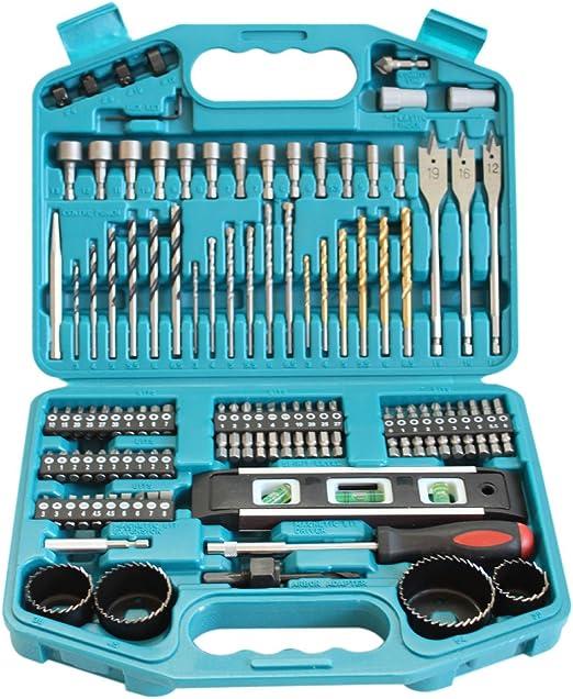 Makita 98C263 - Kit de accesorios para taladrar y atornillar (101 ...