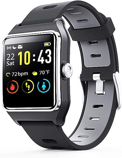 Amazon.com: Reloj inteligente Enacfire W2 con GPS ...