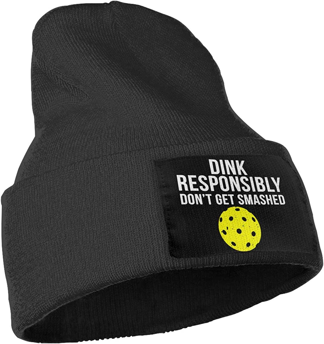 COLLJL-8 Men /& Women Funny Pickleball Outdoor Warm Knit Beanies Hat Soft Winter Skull Caps