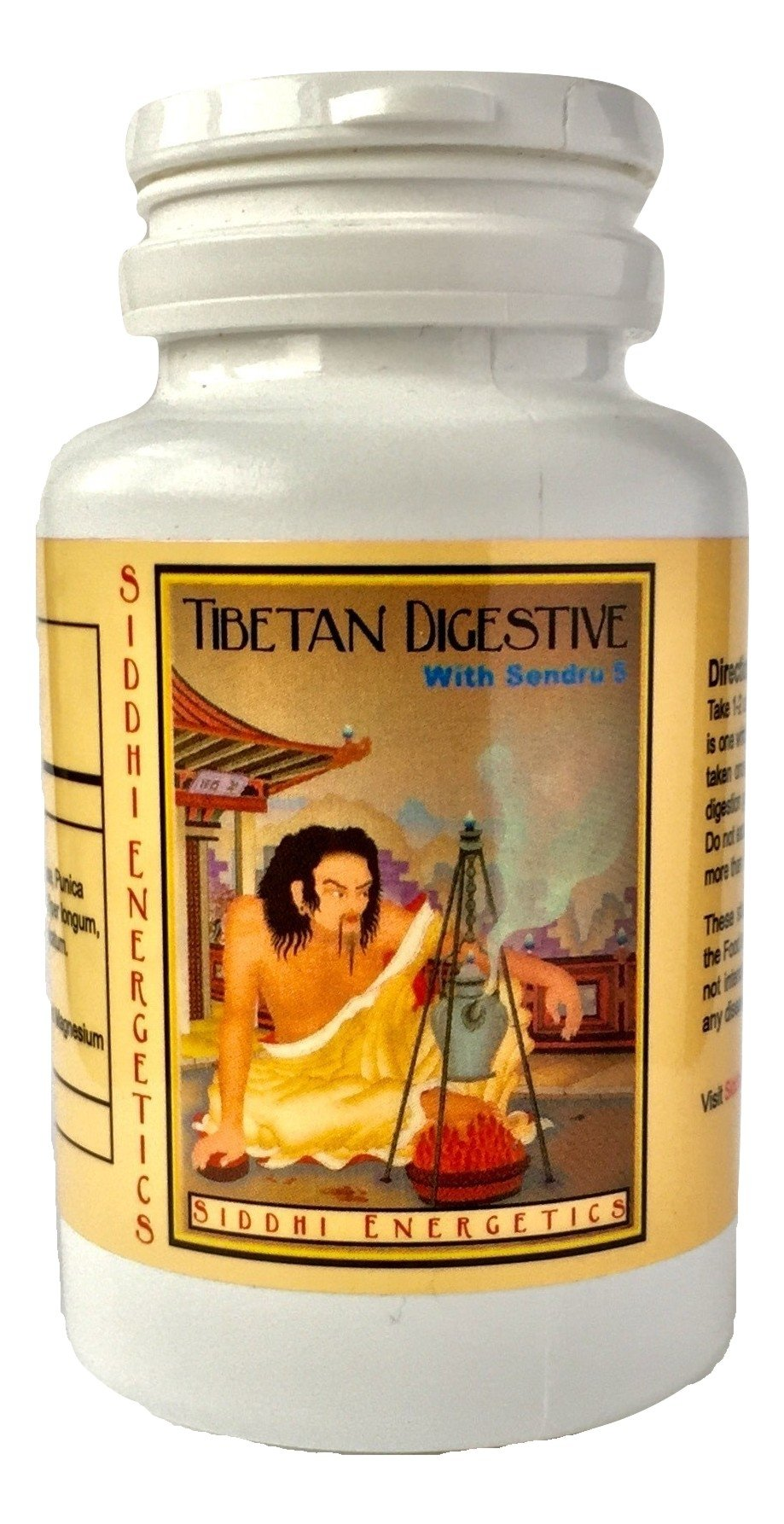 Tibetan Digestive with Sendru 5 by Siddhi Energetics