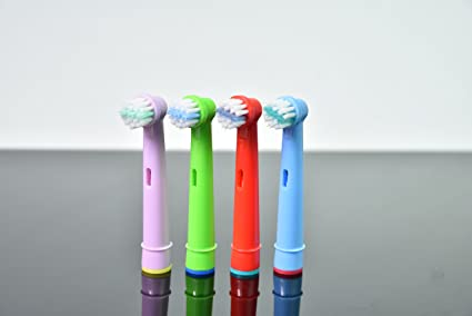 hofoo- cabezales para cepillo de dientes eléctrico para niños para niños Braun Oral-B