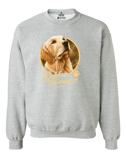 Golden Retriever perro Crewnecks amantes de los animales Sudaderas: Amazon.es: Libros