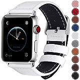 Apple Watch バンド/Apple Watch 4 バンド,Wearlizer アップルウォッチ iwatch,apple watch series 4/3/2/1対応 アップルウォッチ 4 apple watch 4 バンド iwatch ステンレス バンド 軽量 調整工具付 全6色 (42mm 44mm, ブラック+シルバー)