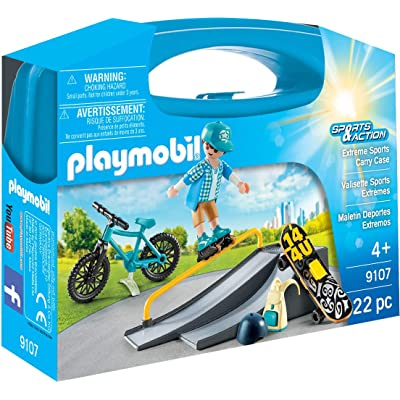 PLAYMOBIL Extreme Sports Carry Case: Toys & Games