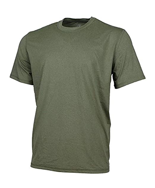 Review G.H. Bass & Co Mens Whitewater Crew Turbo Dry Tee Shirt