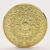 Amarzk - Calendario Azteca Maya Chapado en Oro