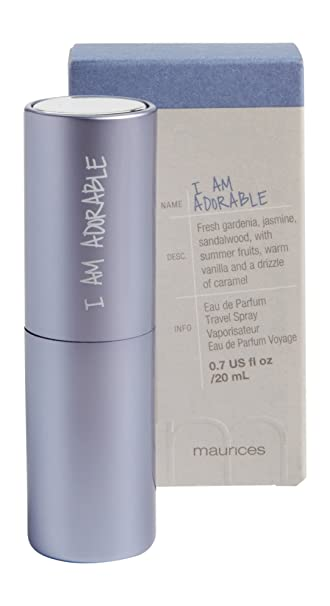 17abb517547c Amazon.com : Maurices Women's I Am Adorable Travel Spray Misc Clear ...