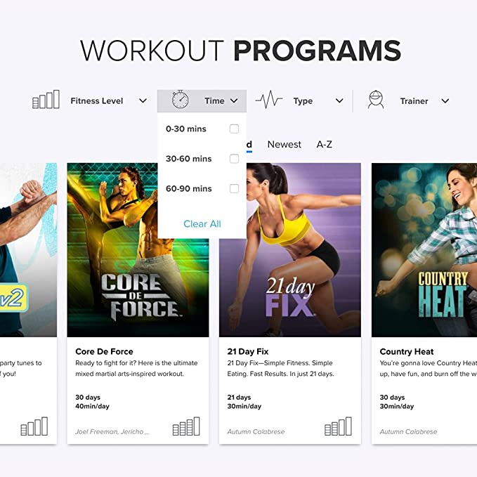 Beachbody on Demand 12 Month Membership – Stream over 700 workouts  including 80 Day Obsession, P90X, 3 Week Yoga Retreat, 21 Day Fix,  INSANITY, PiYo
