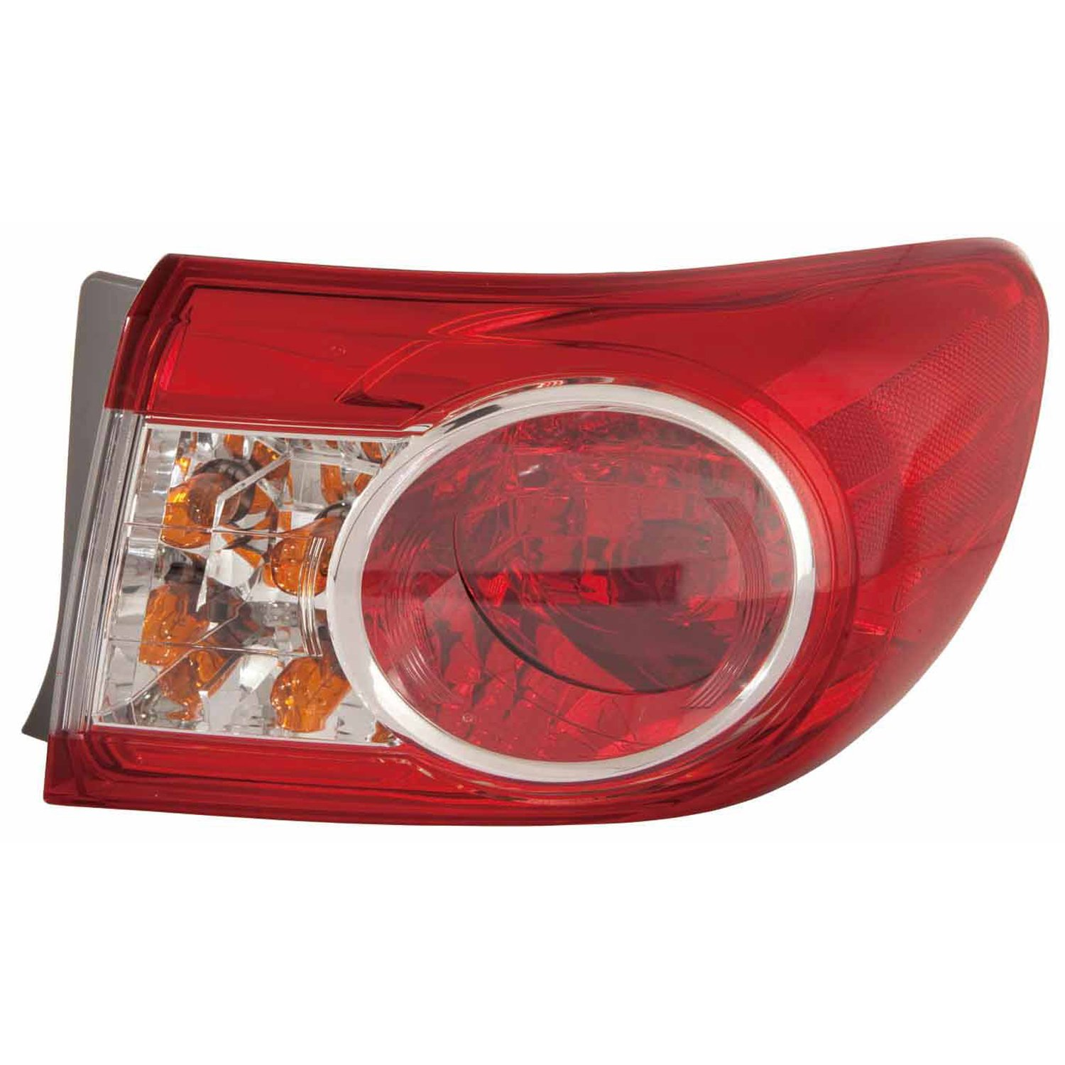Multiple Manufacturers TO2805111C Partslink Number TO2805111 OE Replacement TOYOTA COROLLA/_SEDAN Tail Light Assembly