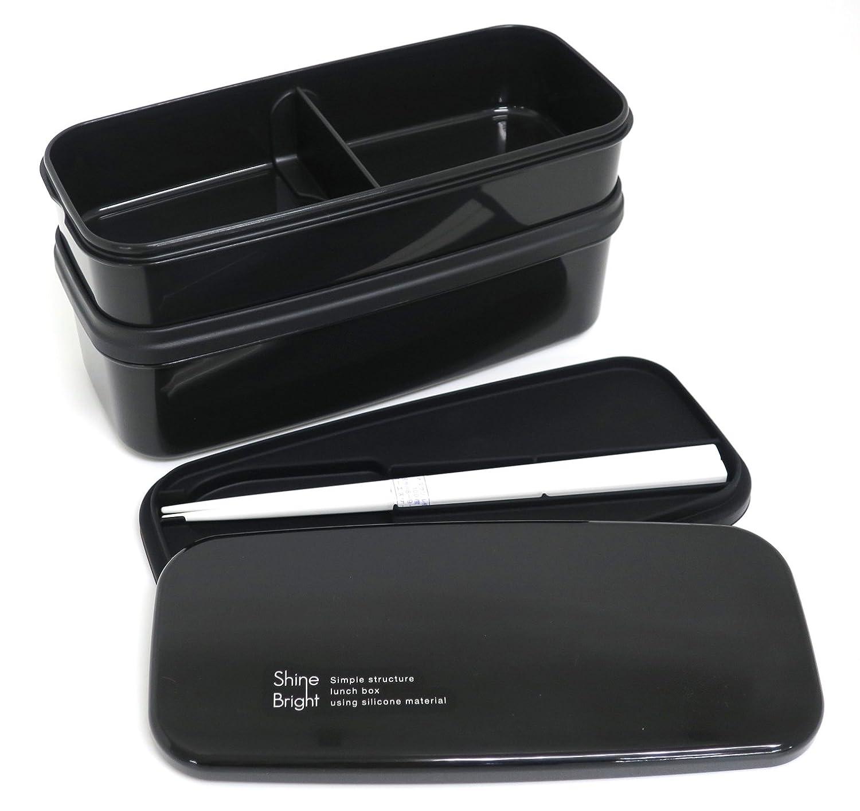 b788626646f4 Amazon.com: o-esuke- syainburaito No. 2 Lunch Box 2 Tier PM – 24 ...