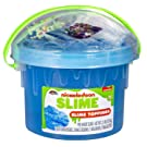 Cra-Z-Art Nickelodeon 2.5Lb Pre-Made Slime Bucket with Toppings Colors May Vary
