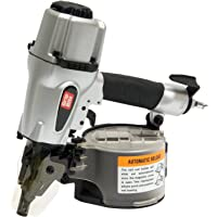 Grip-Rite GRTCS250 Wire and Plastic Collation Coil Siding Nailer, 2-1/2-Inch