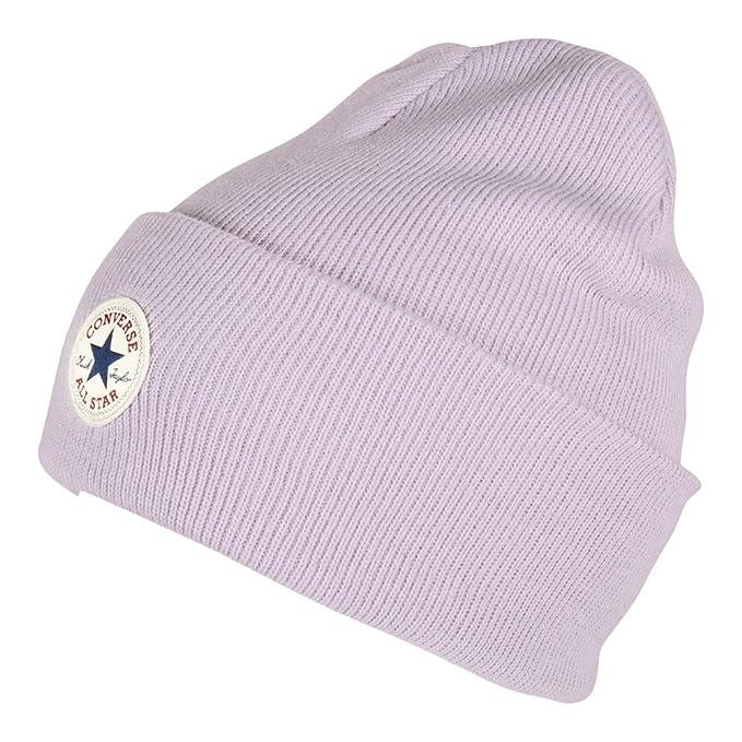 87ca92b09a2 Converse accessories Black Basic Beanie Hat CON588  Amazon.co.uk ...