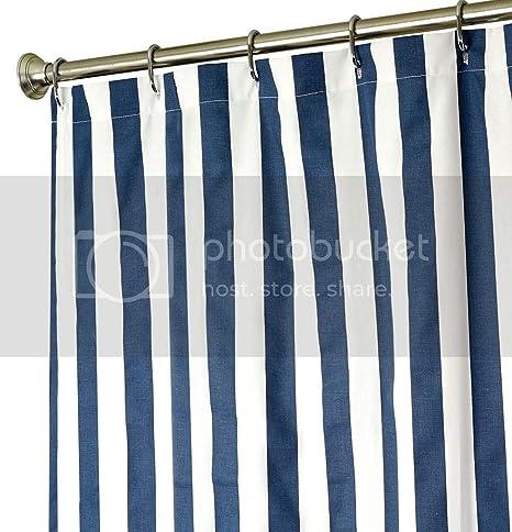 decorative things extra long shower curtain fabric shower curtain striped shower curtains for bathroom navy blue bath curtain luxury cotton cloth 84