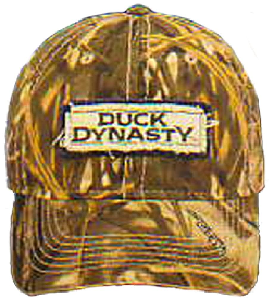 Duck Dynasty Baseball Cap Hat A /& E Brown Khaki One Size Adjustable Hunting