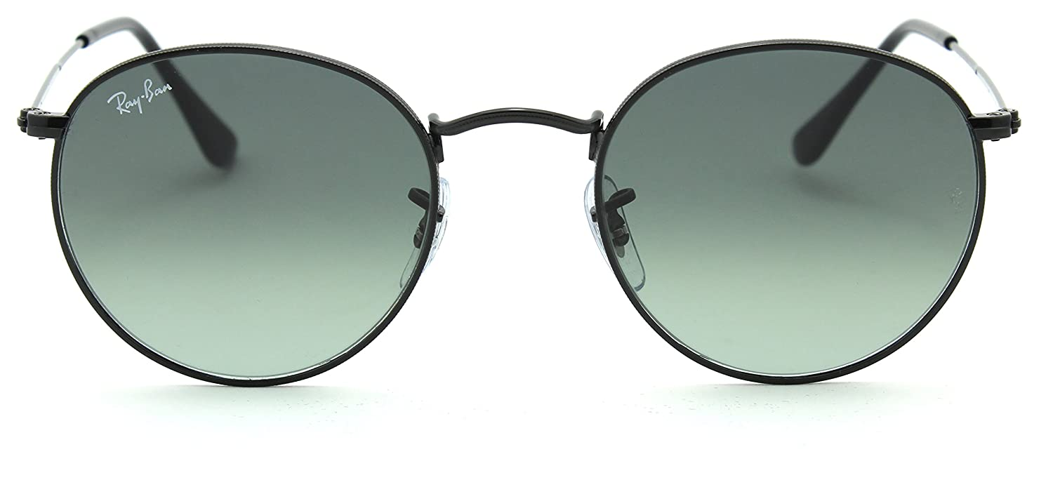 Amazon.com: Ray-Ban rb3447 N redondo plano lentes gradiente ...