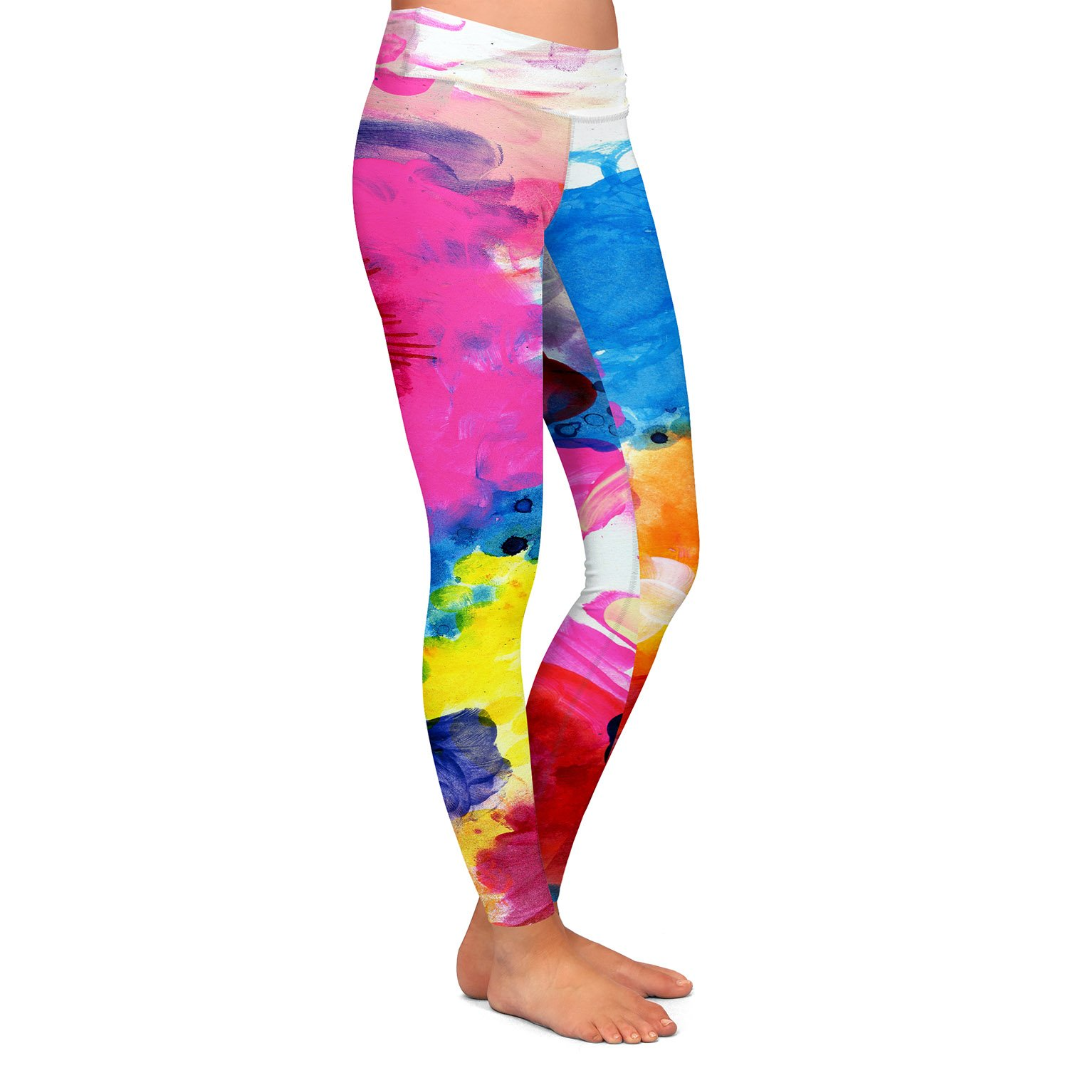 Athletic Yoga Leggings from DiaNoche Designs by Robin Mead Jillian