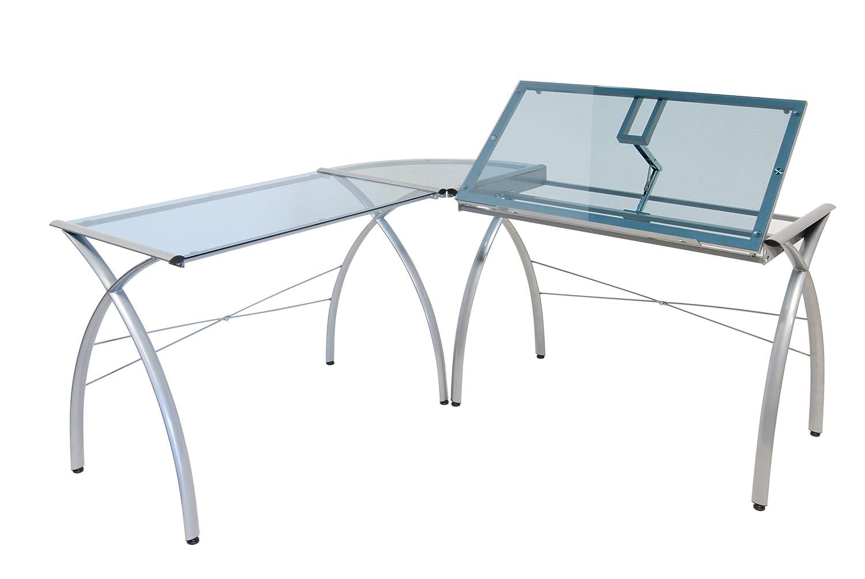Amazon.com: Studio Designs 50306 Futura LS Work Center With Tilt,  Silver/Blue Glass: Arts, Crafts U0026 Sewing