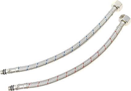 NEPTUNE Flexible robinet Mâle M10 x 100 12 x 17 mm Femelle