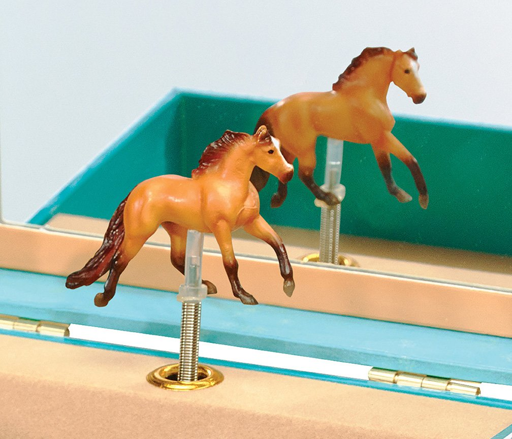 Breyer Spirit Riding Free - Spirit and Lucky Musical Horse Jewelry Box by Breyer (Image #4)
