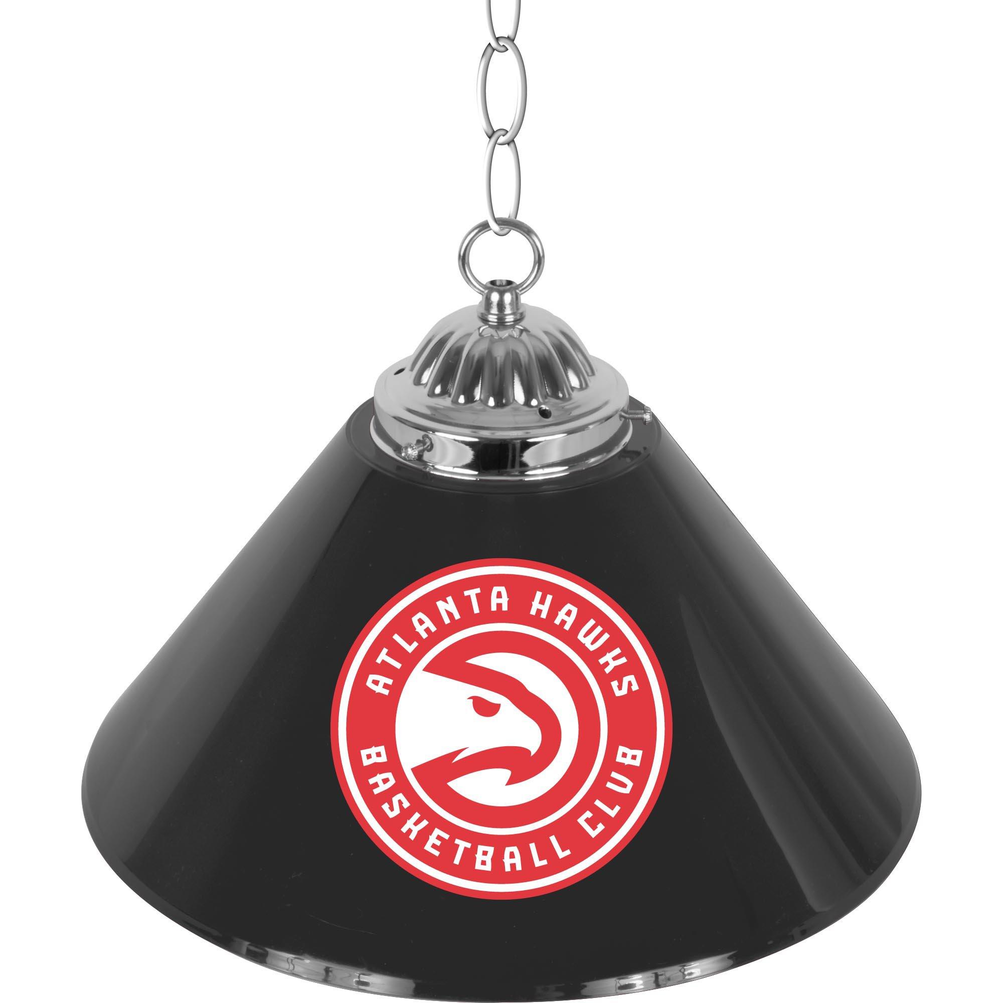 NBA Atlanta Hawks Single Shade Gameroom Lamp, 14''