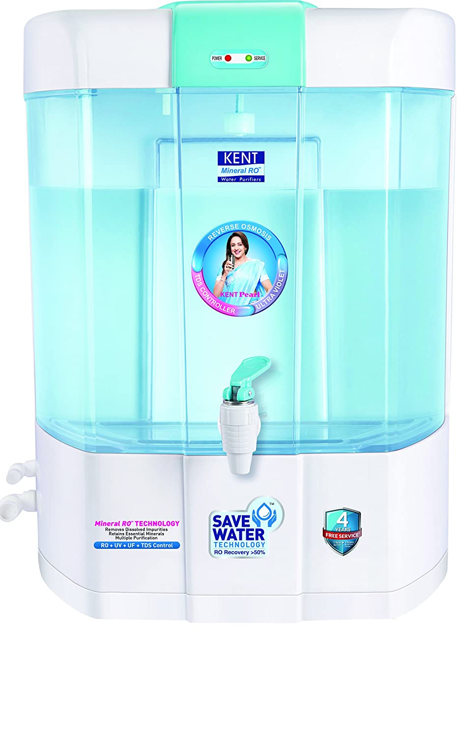 Kent Pearl 8-Litre Mineral RO+UV+UF Water Purifier: Amazon.in: Home ...
