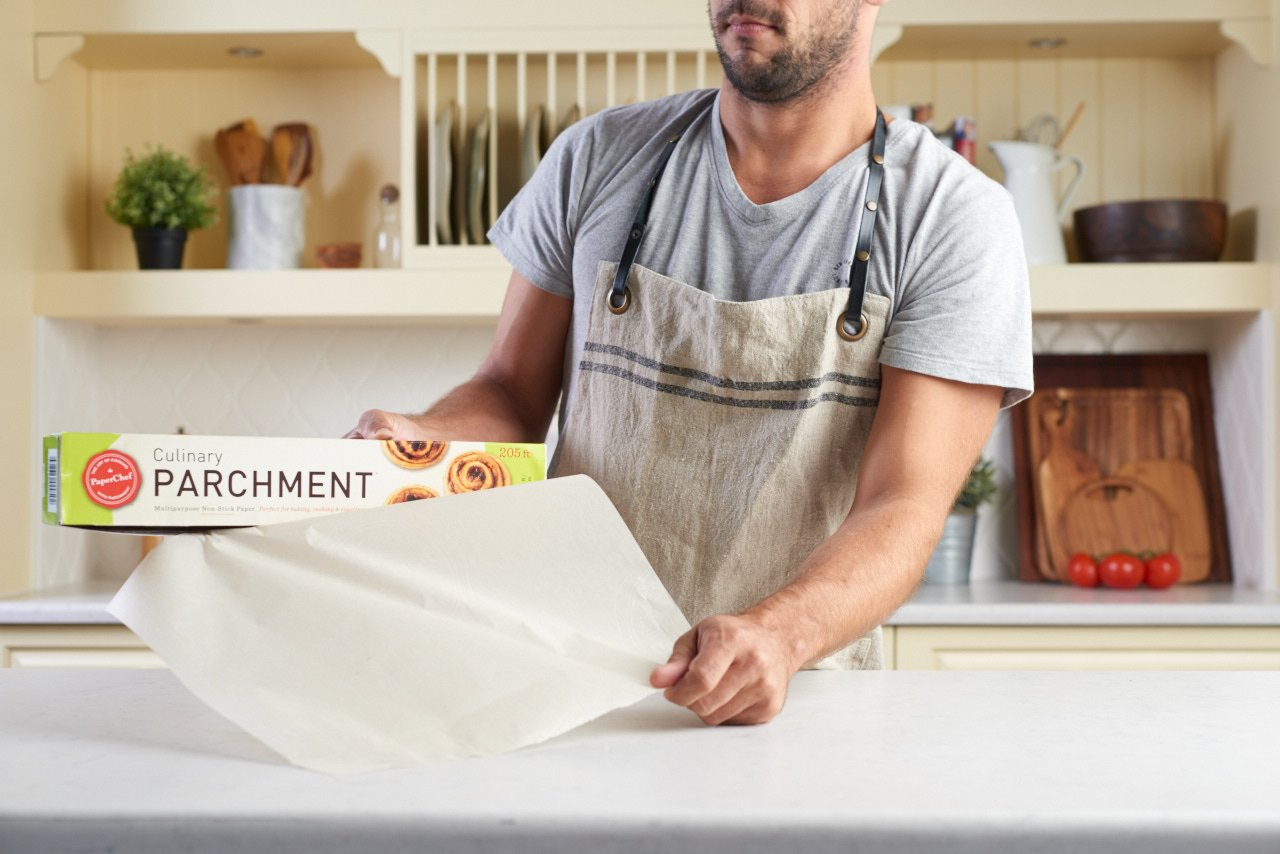 PaperChef Natural Release Coated Non-Stick Culinary Parchment Paper, (1) 205 sq ft roll (15 in x 164 ft) by PaperChef (Image #3)