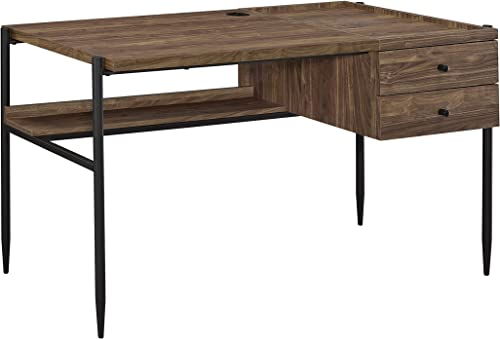 Coaster Home Furnishings Lawtey 2-Drawer Outlet Aged Walnut Writing Desk