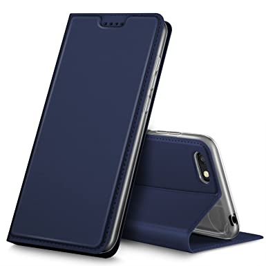 new products f0de6 e0671 Geemai Honor 7S Case, Honor 7S Cover [Card Holder] [Magnetic Closure]  Premium Leather Flip Wallet Case Cover for Honor 7S Smartphone, Blue
