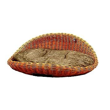 MICHUR SWEETHEART COGNAC, Cama del perro, cama del gato, cesta del gato,