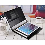 Express Quality IPad Air 2 (2014-15) Organiser Wallet PU Leather Business Professional Case Cover for IPad Air 2 (2014-15) by G4GADGET®