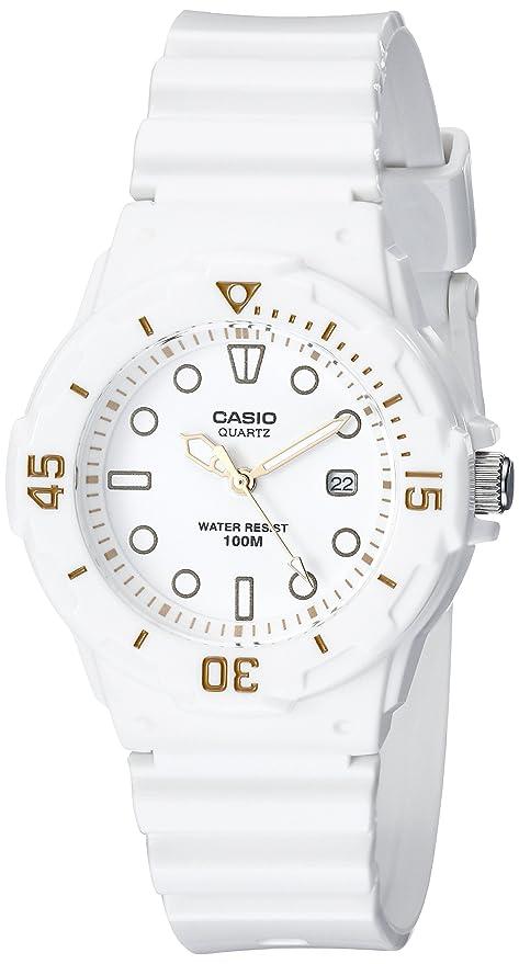 Casio Womens LRW200H-7E2VCF Dive Series Diver-Look White Watch