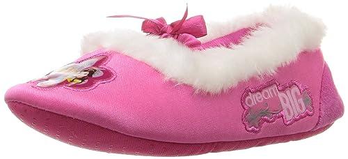 3c39257b611f Disney Princess Kids Ballet Style Slippers (5-6 M US Toddler