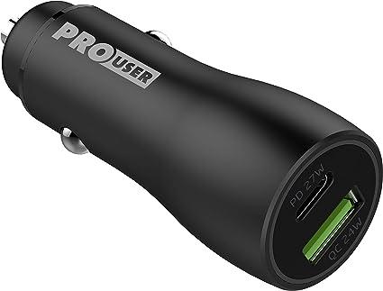 Pro User Dual Usb Car Charger 48w Auto Ladegerät Aus Elektronik
