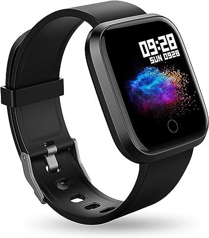 Amazon.com: Reloj inteligente con monitor de actividad ...