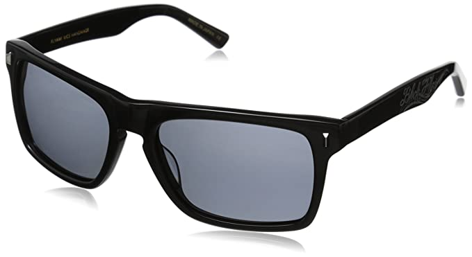 8f344fadb5 Amazon.com  Black Flys Flyami Vice Polarized Wayfarer Sunglasses ...