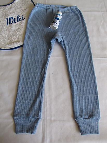 Cosi lana infantil Calzoncillos largos seda/lana de algodón con detergente de Natural de Wiki