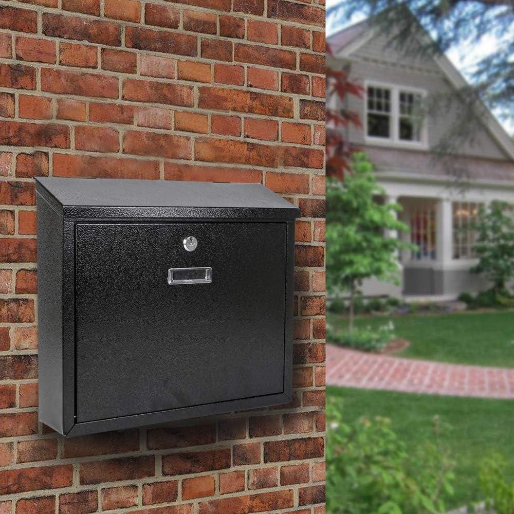 Display4top - Buzón metálico para Cartas y Correo Postal de ...