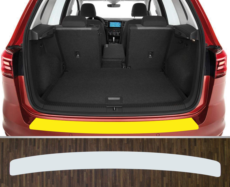 ab 2014 Lackschutzfolie Ladekantenschutz transparent passgenau f/ür VW Sportsvan