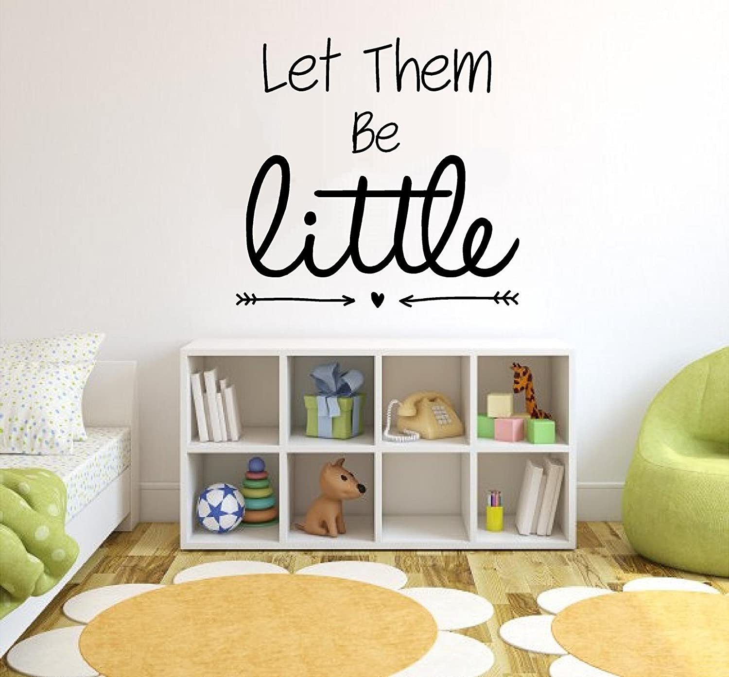 Let Them Be Little Vinyl Wall Quotes Stickers Sayings Home Art      Amazon.com Part 55