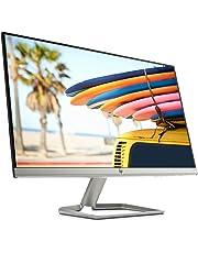 """HP 24FW Monitor, Schermo IPS Full HD, 24"""", 1920 x 1080, Micro-Edge, Tecnologia AMD FreeSync, Modalità Low Blue Light, Antiriflesso, Tempo di Risposta 5 ms, Comandi su Schermo, Reclinabile, Nero"""