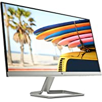 "HP 24FW Monitor, Schermo IPS Full HD, 24"", 1920 x 1080, Micro-Edge, Tecnologia AMD FreeSync, Modalità Low Blue Light, Antiriflesso, Tempo di Risposta 5 ms, Comandi su Schermo, Reclinabile, Nero"
