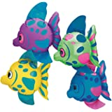 Fun Express Mini Inflatable Fish (1 Dozen)