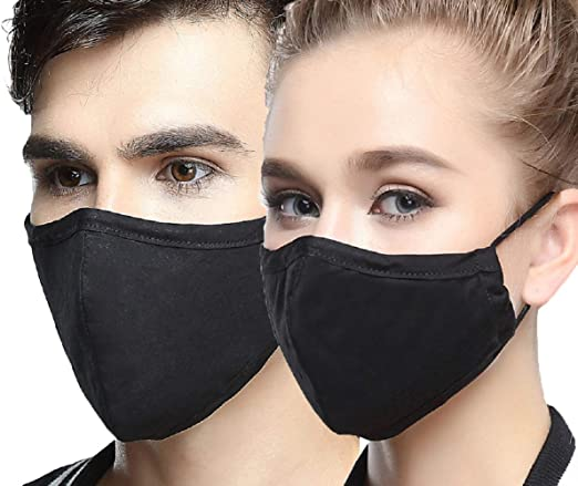 black face mask n95
