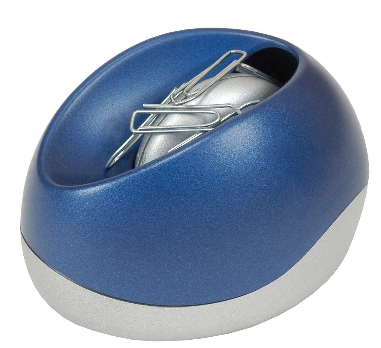 ALBA Clip Dispenser CLIPO CLIPOB 93 x 73 x 70 MM Metallic Blue