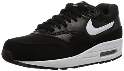 buy popular 6bf5b 1e49a Nike Women s WMNS Air Max 1 Essential, Black White, ...