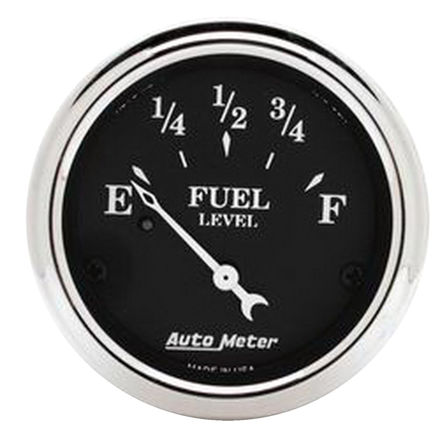 Auto Meter 1718 Old TYME Black Fuel Level Gauge