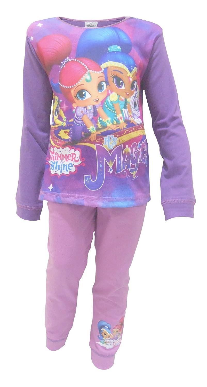 Shimmer /& Shine Magic Little Girls Pajamas 3-4 Years
